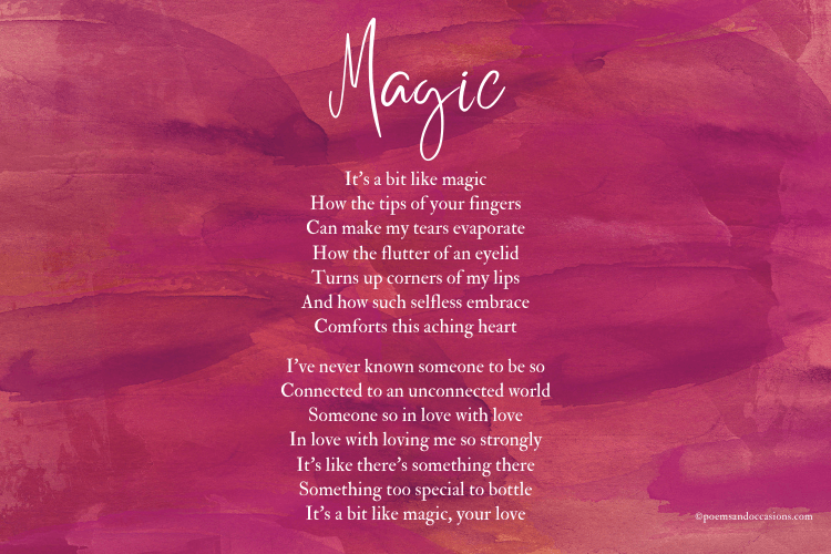 your love is like magic